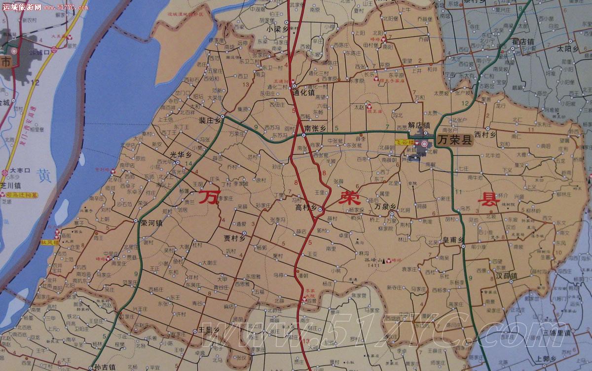 运城地图高清版图片展示_运城地图高清版相关图片